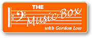 The Music Box animated logo